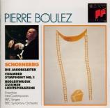 SCHOENBERG - Boulez - Die Jakobsleiter (L'échelle de Jacob)