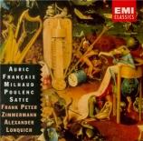 AURIC - Zimmermann - Sonate pour violon et piano