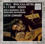 VALLS - Leonhardt - Missa Scala Aretina
