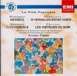 HONEGGER - Tzipine - Mermoz H.167 : suites orchestrales