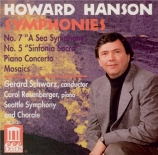 HANSON - Schwarz - Concerto pour piano op.36