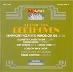 BEETHOVEN - Monteux - Symphonie n°9 op.125 'Ode à la joie' avec la répétition de la Marseillaise par Monteux