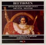 BEETHOVEN - Michelangeli - Concerto pour piano n°5 en mi bémol majeur op