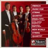 Musique française pour quatuor à cordes