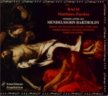 BACH - Spering - Passion selon St Matthieu(Matthäus-Passion), pour soli version de Mendelssohn Leipzig 1841
