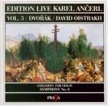 DVORAK - Ancerl - Symphonie n°8 en sol majeur op.88 B.163