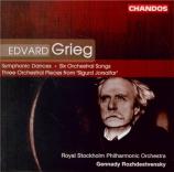 GRIEG - Rozhdestvensky - Quatre danses symphoniques op.64