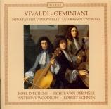 Sonates pour violoncelle et basse continue