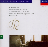 SCHUMANN - Richter - Teatro del Bibbiena, Mantova 1986 Teatro del Bibbiena, Mantova 1986
