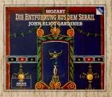 MOZART - Gardiner - Die Entführung aus dem Serail (L'enlèvement au sérai