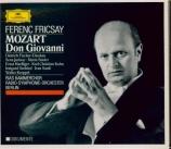 MOZART - Fricsay - Don Giovanni (Don Juan), dramma giocoso en deux actes