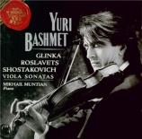 GLINKA - Bashmet - Sonate pour alto et piano en ré mineur