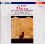BLAVET - Arita - Sonate pour flûte op.2 n°2 'La Vibray'