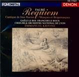FAURE - Krivine - Requiem pour voix, orgue et orchestre en ré mineur op import Japon