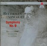 BEETHOVEN - Harnoncourt - Symphonie n°9 op.125 'Ode à la joie'