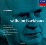 SCHUMANN - Backhaus - Concerto pour piano et orchestre en la mineur op.5