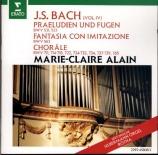 BACH - Alain - Prélude et fugue pour orgue en mi mineur BWV.533 'Petit'