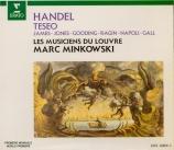 HAENDEL - Minkowski - Teseo, opéra en 5 actes HWV.9