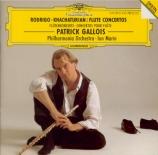 RODRIGO - Gallois - Concierto pastoral, pour flûte