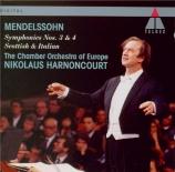 MENDELSSOHN-BARTHOLDY - Harnoncourt - Symphonie n°3 en la mineur op.56 '