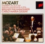 MOZART - Giulini - Symphonie n°39 en mi bémol majeur K.543