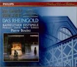 WAGNER - Boulez - Das Rheingold (L'or du Rhin) WWV.86a