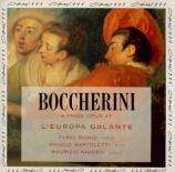 BOCCHERINI - Europa Galante - Trio pour deux violons et violoncelle n°31