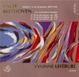BEETHOVEN - Lefébure - Sonate pour piano n°30 op.109