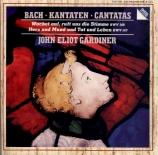 BACH - Gardiner - Wachet auf, ruft uns die Stimme, cantate pour solistes