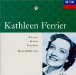 SCHUMANN - Ferrier - Frauenliebe und -Leben (L'amour et la vie d'une fem BBC Broadcast from the 1949 Edinburgh Festival