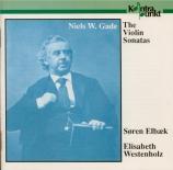 GADE - Elbaek - Sonate pour violon et piano n°1 op.6