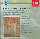 BOULANGER - Markevitch - Psaume 130 'Du fond de l'abîme'