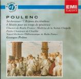 POULENC - Prêtre - Sécheresses, cantate pour chœur mixte et orchestre su