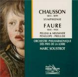 CHAUSSON - Soustrot - Symphonie op.20