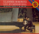 BACH - Horowitz - Toccata, adagio et fugue pour orgue en do majeur BWV.5 Live at Carnegie Hall - The Historic Concerts of 1965, 1966 and 1968