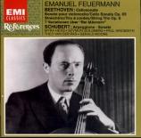 BEETHOVEN - Feuermann - Sonate pour violoncelle et piano n°3 op.69