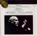 STRAUSS - Toscanini - Don Juan, pour grand orchestre op.20