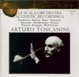La Scala Orchestra Acoustic Recordings