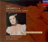 STRAUSS - Solti - Arabella, opéra op.79