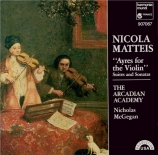 MATTEIS - Arcadian Academ - Ayres for The Violin