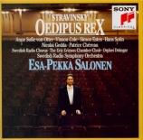 STRAVINSKY - Salonen - Œdipus Rex, opéra-oratorio en 2 actes d'après Sop