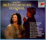 MOZART - Weil - Die Entführung aus dem Serail (L'enlèvement au sérail)