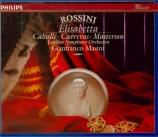 ROSSINI - Masini - Elisabetta, regina d'Inghilterra