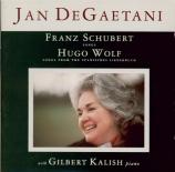 SCHUBERT - DeGaetani - Schäfers Klagelied (Goethe), pour voix et piano o