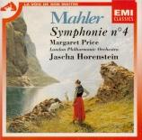 MAHLER - Horenstein - Symphonie n°4