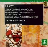 LISZT - Sourisse - Missa choralis, pour chœur et orgue S.10
