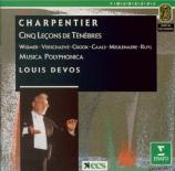CHARPENTIER - Devos - Première leçon de ténèbres du Mercredi Saint, pour