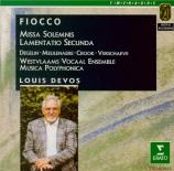 FIOCCO - Devos - Missa solemnis