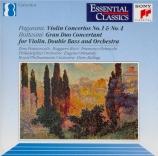 PAGANINI - Francescatti - Concerto pour violon n°1 en ré majeur op.6 M.S