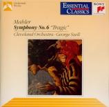 MAHLER - Szell - Symphonie n°6 'Tragique'